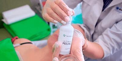 Обзор космецевтики. Всесезонные пилинговые программы ХИТ-процедура «Фарфоровая кожа»