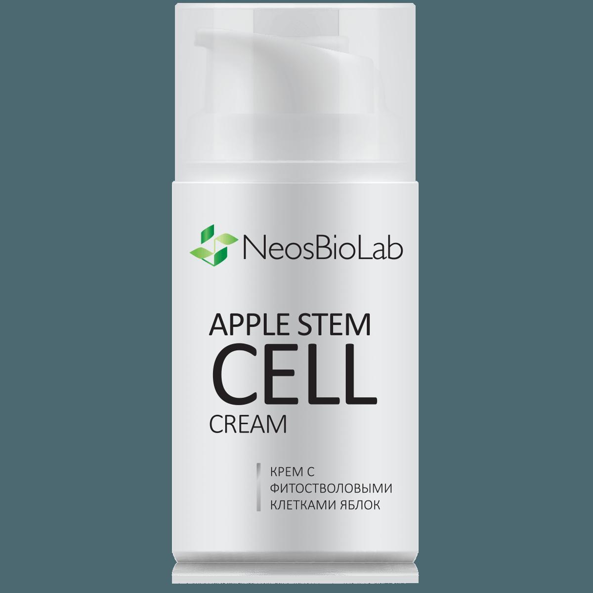 Программа ухода против морщин с Кремом с фитостволовыми клетками яблок NeosBioLab
